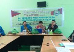 Sambutan Tim Asesor Kepada Pejabat Fakultas Agama Islam UIM